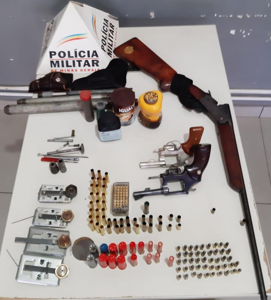 Idoso de 61 anos é preso com armas e munições em Paracatu - Paracatunews